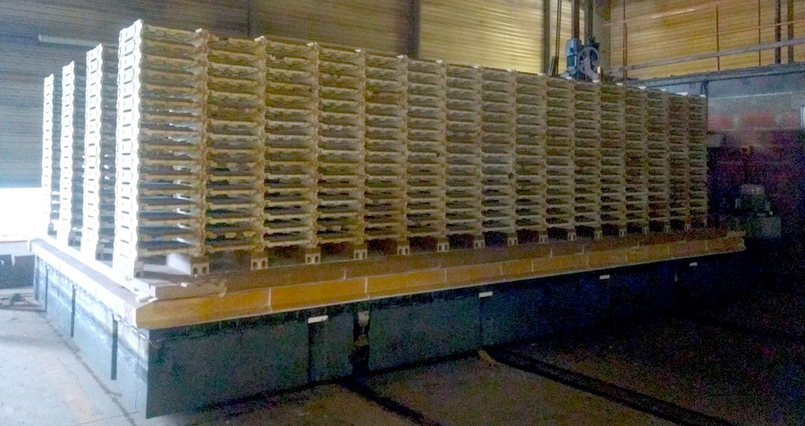 Kiln car refractory h cassettes 02
