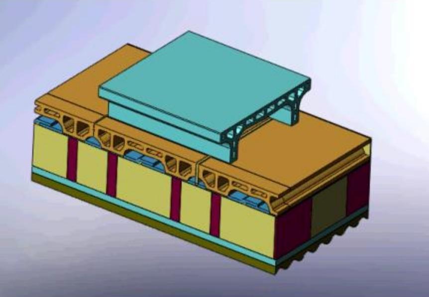 Kiln car refractory stiff extrusion 03