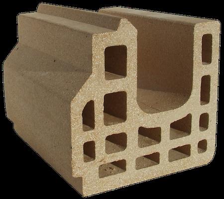 Refractory clay campo brick 2