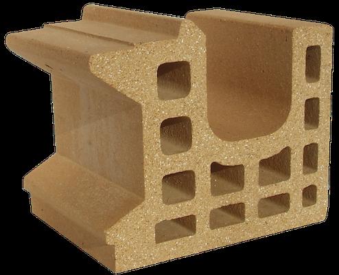 Refractory clay campo brick 4