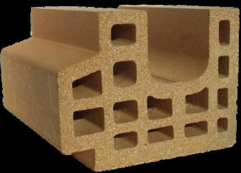 Refractory clay campo brick 5