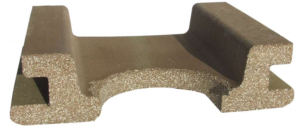 Refractory clay campo roof 0